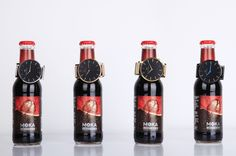 Moka beer also loves the first/thinnest super fashion watch by welly merck.