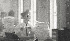 Disney's Paperman concept art