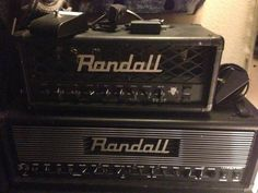 Randall RD20H - 2 Channel all tube (12AX7/6V6) 20w head with Boost Mode, (yes this amp is loud enough to play with a drummer, and then some, dont let the 20w fool you, this thing is LOUD) Speaker emulated XLR direct output with ground lift, Class A Discrete instrument level FX loop, 2 function footswitch. Had this amp for exactly 1 year as of today. Again another great amp voiced by Mike Fortin has to go for more new stuff coming…
