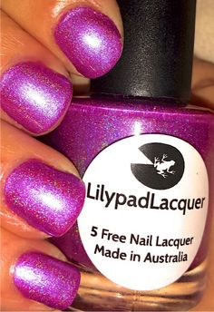 Lilypad Lacquer - Blooming Violets (on the way)