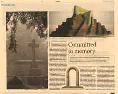 The Monumental Masonry competition and exhibition at John Soane's Museum was featured in the Financial Times. Contemporary funeral architecture is discussed and Sebastian Bergne's winning project is explained.  #Masonry