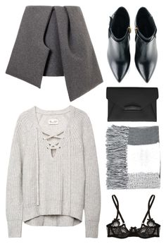 """at"" by grey-eyes ❤ liked on Polyvore featuring J.W. Anderson, Kim Kwang, Givenchy, Topshop and L'Agent By Agent Provocateur"