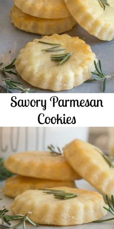 Savory Parmesan Cookies – great as an appetizer, snack or serve with your favorite soup or stew! Savory Parmesan Cookies – great as an appetizer, snack or serve with your favorite soup or stew! Baking Recipes, Cookie Recipes, Baking Snacks, Kids Baking, Shortbread Recipes, Keto Recipes, Healthy Recipes, Appetizer Recipes, Snack Recipes