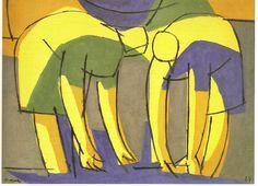 AREL-ARTE: EN EL CENTENARIO DE LUIS SEOANE Centenario, Illustration, Art Projects, Disney Characters, Fictional Characters, Sculpture, Painting, Portraits, Wall