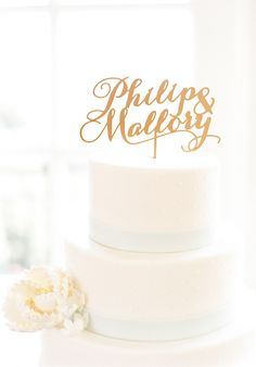 View entire slideshow: Trending: Laser-cut Cake Toppers on http://www.stylemepretty.com/collection/3303/