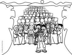 1000 images about exodus on pinterest baby moses for Crossing the red sea coloring page