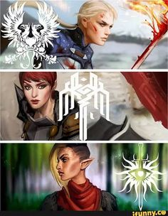 Now that's an epic badass lady trio! :-) ... Kudos to the artist!!!
