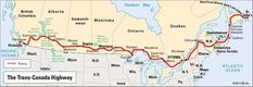 Map of the Trans-Canada Highway. Road Trip Map, Road Trips, Cross Canada Road Trip, Riding Mountain National Park, Trans Canada Highway, Highway Map, Cabot Trail, National Road, Kids Checklist