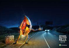 publicités designs et créatives de Juillet 2012
