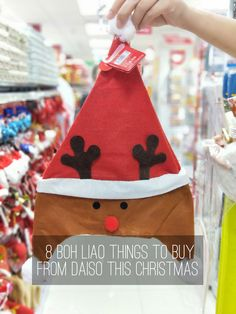 There are so many reasons to love Christmas – nobody's in the mood for work; everyone's generally always up to feast and party; and let's not forget, it's the best time to justify shopping.   We're all about bohliao things so we hit Daiso to pick out the most random buys you can get for $2. Enjoy!  Read the full article at blog.partyfairy.com