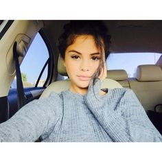 Celebs without makeup Instagram edition for 2015 -Selena Gomez