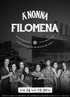 Musical A NONNA FILOMENA