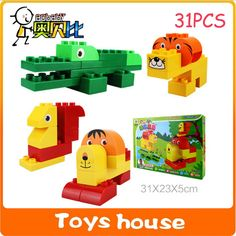 31PCS Building blocks mega blocks building construction toys toddlers models & building toy educational toys-in Blocks from Toys & Hobbies on Aliexpress.com | Alibaba Group