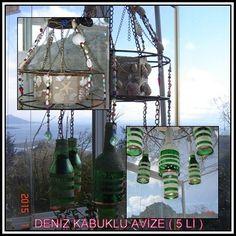 DENİZ KABUKLU AVİZE  5 Lİ