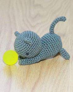 Have you already made one of these little cats?  You can download the pattern here: http://www.lovecrochet.com/independent-designers/…