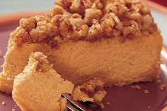 Sweet Potato Cheesecake Recipes