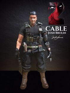 Josh Brolin CABLE (Deadpool2) (Marvel Legends) Custom Action Figure