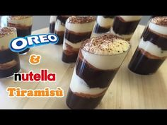 Oreo & Nutella Tiramisù - Cheeky Crumbs - YouTube