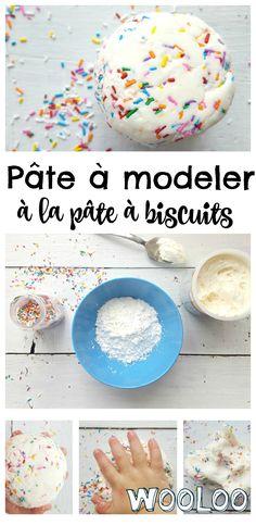 Voici une pâte à modeler à la pâte à biscuit qui sent le ciel! #diy #playdooh #bricolage #pâteàmodeler