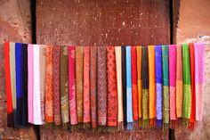 Scarves Postcard from Marrakesh | www.elizabethstreet.com