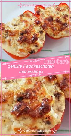 Stuffed peppers and other things with quick preparation - Low carb Rezepte - French Toast Bake, French Toast Casserole, Low Carb Recipes, Healthy Recipes, Party Buffet, Breakfast Pizza, Eat Smart, Finger Foods, Food And Drink