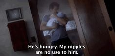 Grey's Anatomy- Derek and Baby Bailey