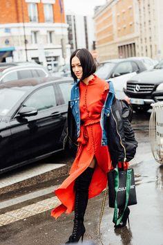 A Stranger in Paris Tiffany Hsu Black Red Blue