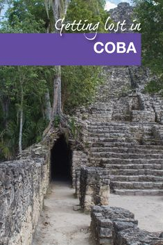 The mayan ruins of Coba make for a fun day trip in the Riviera Maya.