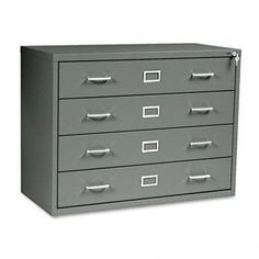 Four-Drawer Computer Disk/Data Cabinet, 37w x 17-1/2d x 27-3/4h, Charcoal - 4930CH by Safco. $954.21. 11. Slotted drawer tray inserts keep different media organized and in view. Mix media in any slot. Heavy-gauge steel cabinet with baked enamel finish helps dissipate static electricity and provides electromagnetic radiation protection. Key lock secures all drawers. Label holders for quick and easy identification of contents. Use with optional Safco computer disk/data optional...