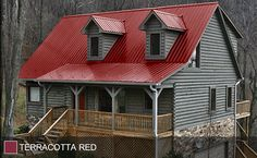 STEEL ROOF - Terra Cotta Red