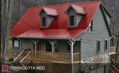 STEEL ROOF - Terra Cotta Red