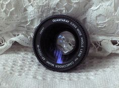 A Junkee Shoppe Junk Market Stop: QUANTARAY 65X Wide Angle Camcorder Camera Lens Used... Click Link Here To View >>>> http://ajunkeeshoppe.blogspot.com/2015/10/quantaray-65x-wide-angle-camcorder.html