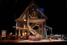 August: Osage County. The Imperial Theatre. Broadway. Set design by Todd Rosenthal.