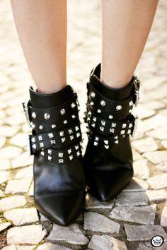 Santa Lolla studded boots  FashionCoolture