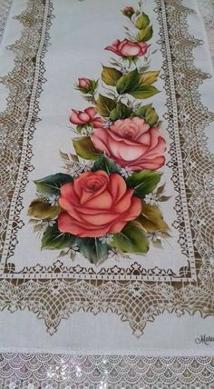 Discover thousands of images about Hand Painted Watercolour Floral Clip Art - Vintage Vibe Hand Embroidery Patterns Flowers, Hand Embroidery Stitches, Silk Ribbon Embroidery, Flower Crafts, Flower Art, Lotus Artwork, Clip Art Vintage, Full Hand Mehndi, Fabric Paint Designs