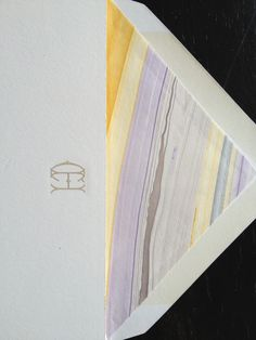 Lavender marble liner - coming soon in the new Arzberger Wedding Album!