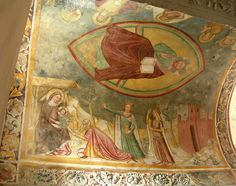 Longobard temple ceiling, Cividale, Italy