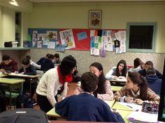 Mathristas @Mathristas 9 de feb. Un #lapicesalcentro combinado con #sémiprofe #Ourenseenruta #compostelaenruta