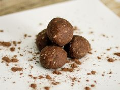 Chocolate Almond Coconut Bites - The Food Lovers Kitchen (I think homemade almond butter is ok for 21dsd?)