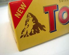 Check this logo out!  This choc is close to my heart and knowing it is Swiss i just assumed the mountain was the swiss alpes which it is but take a second look!  it is known for bears. TAKE ANOTHER OOK AT HTE LOGO.