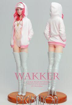 3d Model Character, Female Character Design, Character Modeling, Character Art, Kawaii Anime Girl, Anime Art Girl, Mode Kawaii, Pose Reference Photo, Anime Figurines