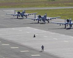 NATO's F-16 touchdown in Estonia
