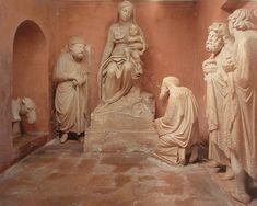 Arnolfo di Cambio pr la basilique ste Marie Majeure adoration des mages
