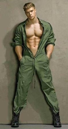 Model: Attila Toth By: David Vance For: Huf Magazine Muscle Hunks, Muscle Men, Men In Uniform, Cover Model, Hairy Men, Attractive Men, Male Beauty, Hot Boys, Gorgeous Men