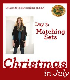 Christmas in July Day 3: 6 Matching Sets to Knit and Crochet for the Holidays!
