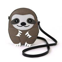 Sleepyville Critters Baby Sloth Shoulder Crossbody Bag