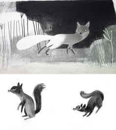 Isabelle Arsenault.   Love this! This is what inspires our creative work you can see at  http://www.ancienteyebohemianarts.com