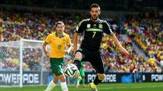 Grupo B: España 3 - Australia 0