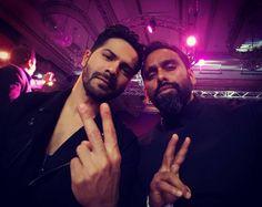 Bromance Alert! Varun Dhawan and Bosco Martis pose for a selfie