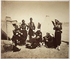 French Guard-Zouaves during the Crimean War